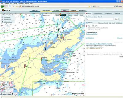 ses på sjökort