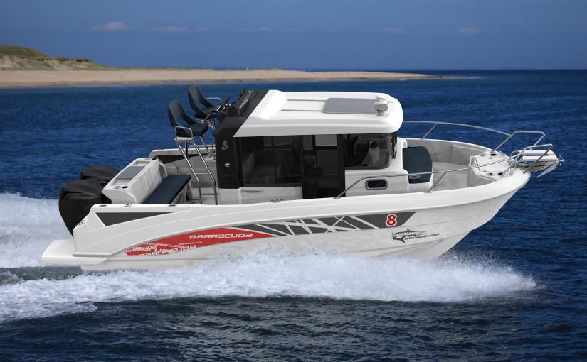 Ny Barracuda 8 – utmanare med utombordare