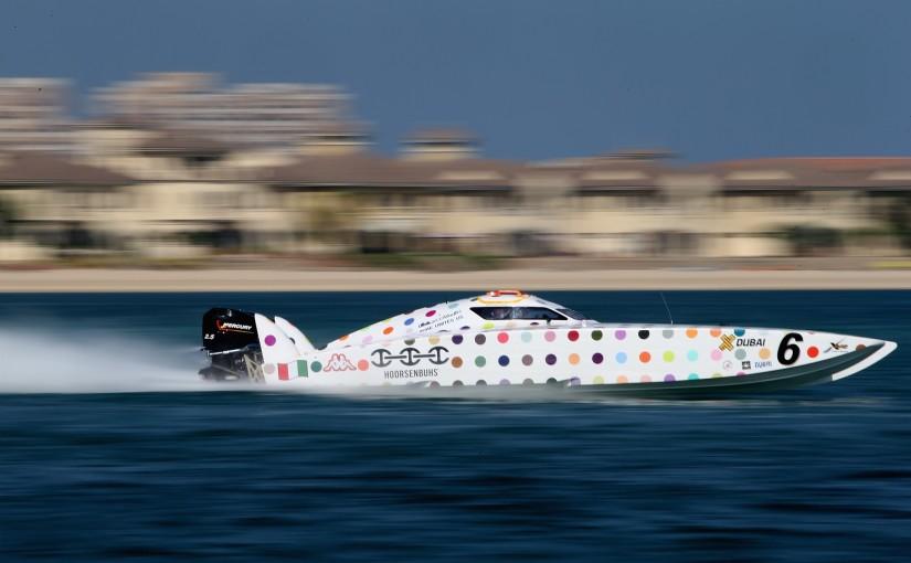 Alla båtarna redo för XCAT final i Dubai