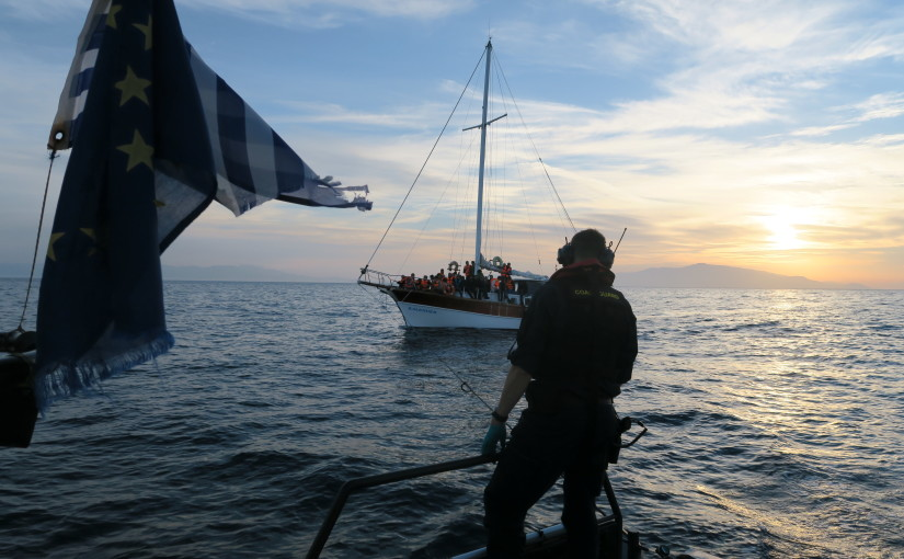 Kustbevakningen räddade 139 personer från segelbåt