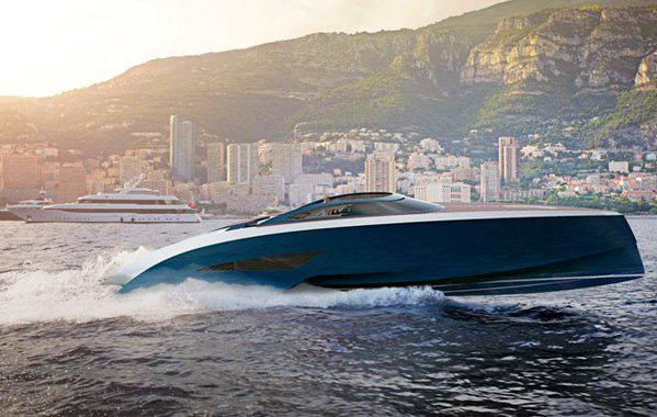 Palmer Johnson bygger Bugatti sport yacht