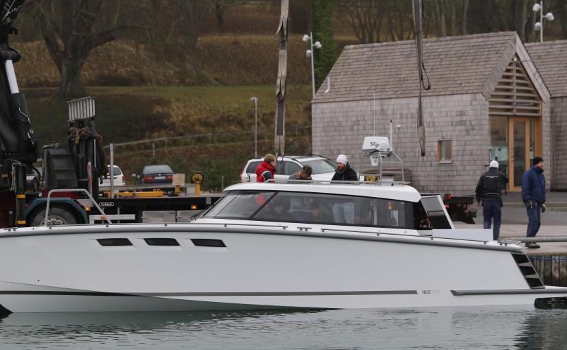 HOC33 P provkörd på Gotland