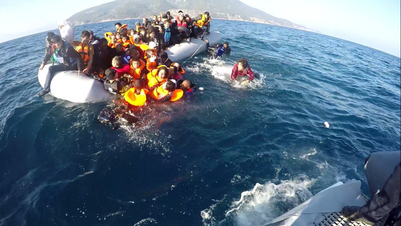KBV 477 i dramatisk sjöräddningsinsats