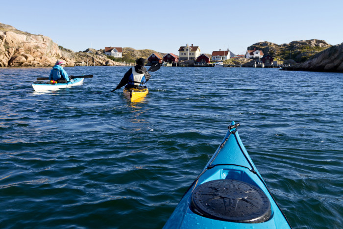 Utländska turister trivs i Bohuslän