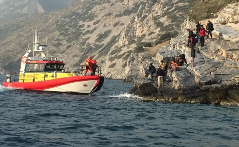 Fjärde teamet från SSRS har räddat 140 på Samos