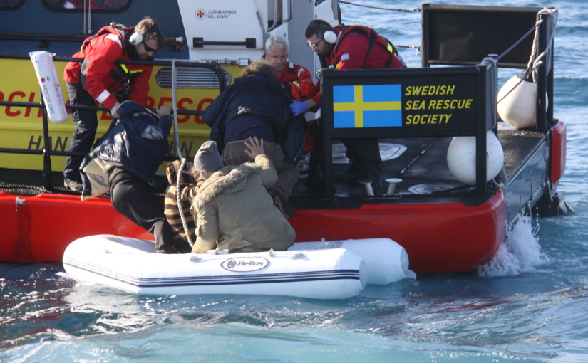 Nu har gula båtarna räddat 1 000 människor på Medelhavet