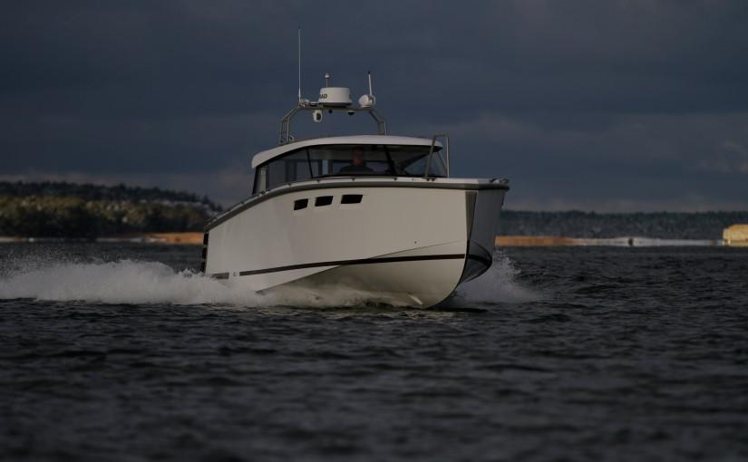 HOC 33 testad utanför Gotland