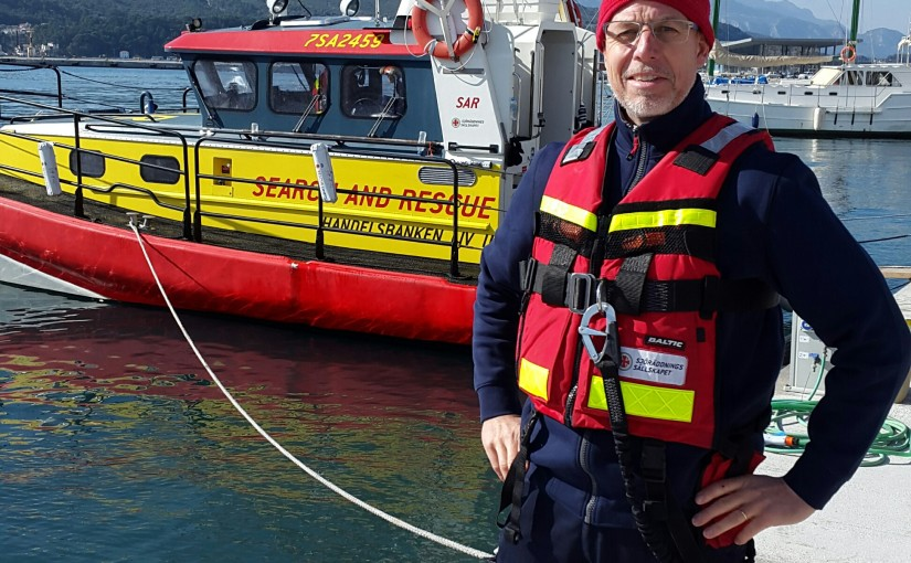 Sjöräddningssällskapet på Samos – team 9 och 10