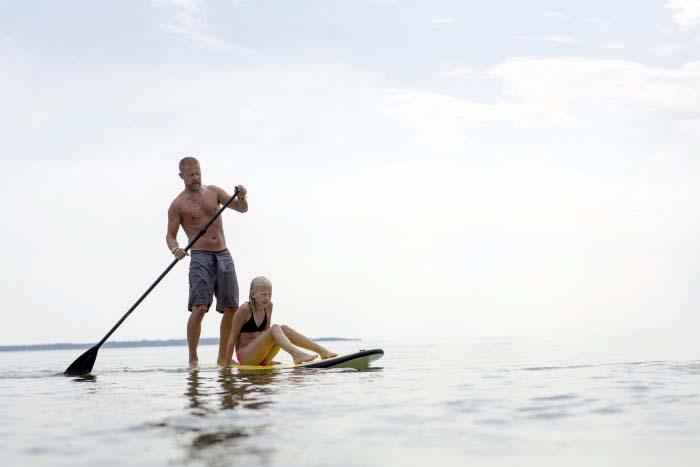 Vattensport med SUP på Allt för sjön