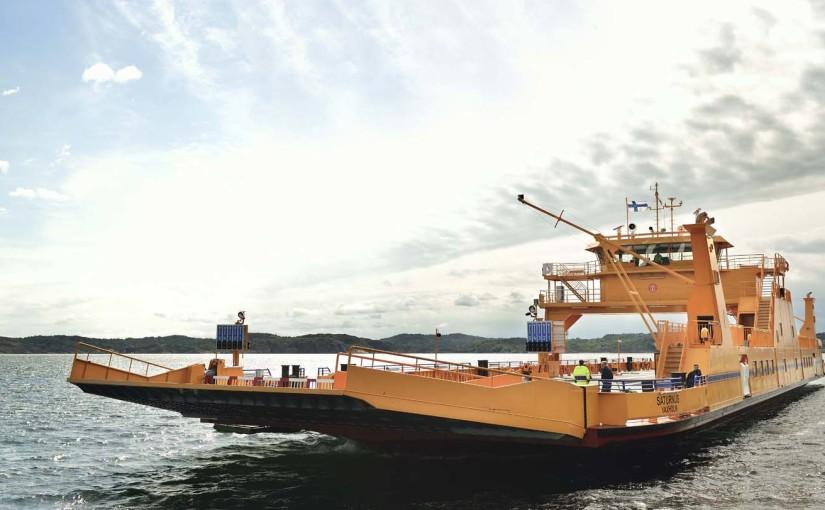 Trafikverkets färjerederi förstärker flottan