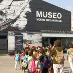 October 6, 2014. The Volvo Ocean Race Museum in Alicante during the Alicante stopover.