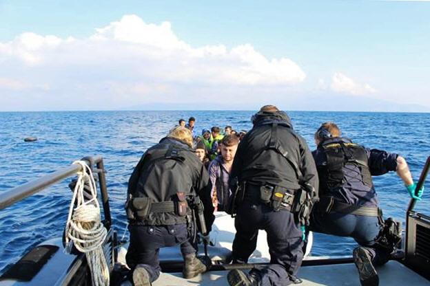 Bättre väder – fler båtar med migranter