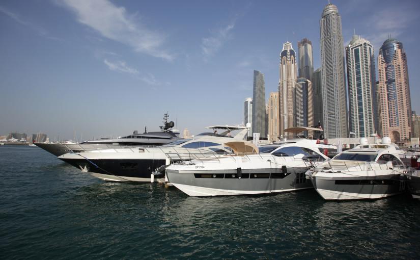Lyxigaste båtarna finns i Mellanöstern
