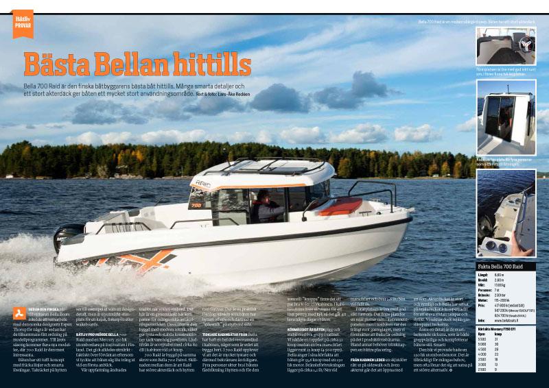 Bella 700 Raid Båtliv 1-16-1