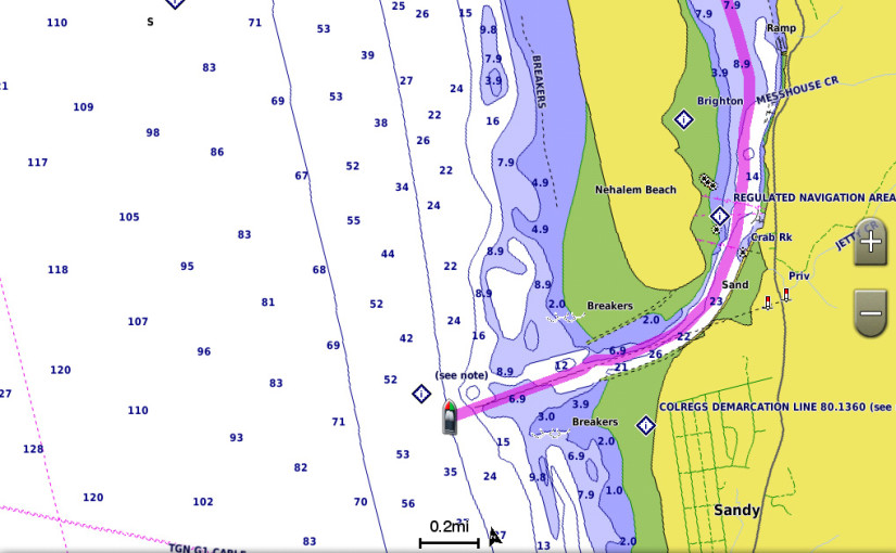 Bättre BlueChart-kartografin med nytt HD-innehåll