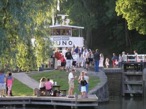 Göta kanal renoveras