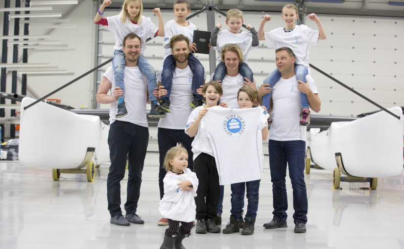 Fluxteamet ska inspirera ungdomarna till segling