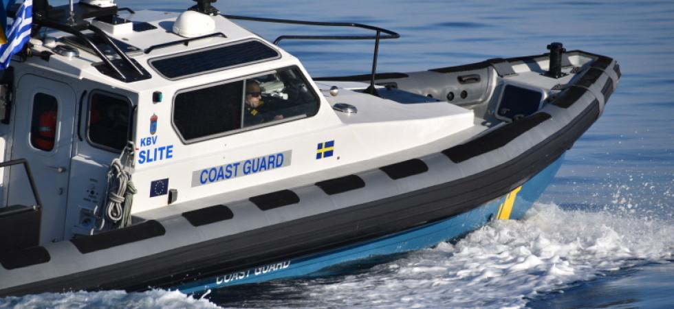 Nya insatser av Kustbevakningen för Frontex