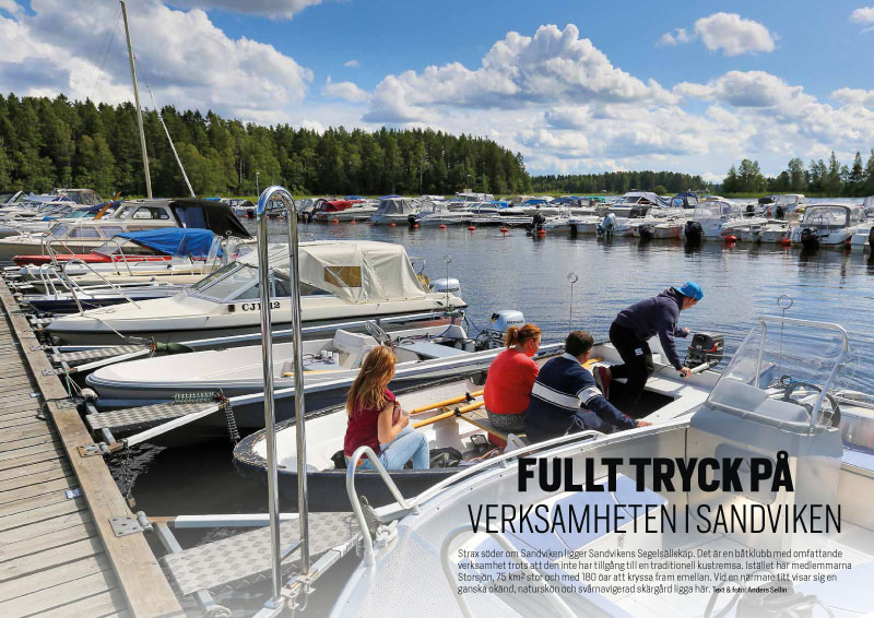 Sandvikens Segelsällskap Båtliv 1-16-1