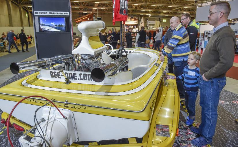 600 båtar och 500000 liter vatten på Helsingforsmässan