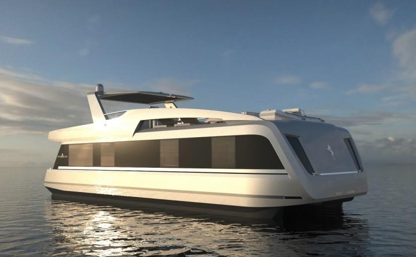 Unika båtar för boende ombord