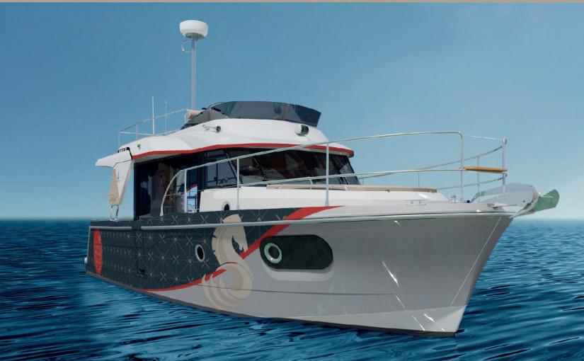 Flytande sommarstuga – Beneteau Swift Trawler 30