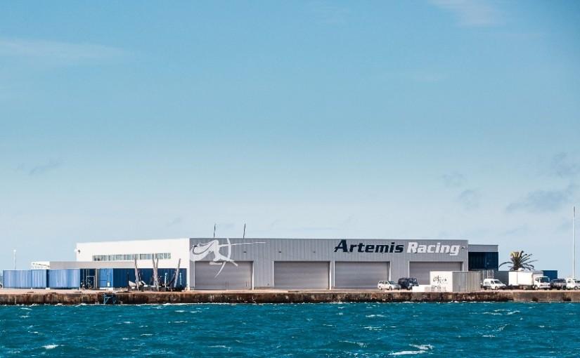 Artemis inviger sin nya bas på Bermuda