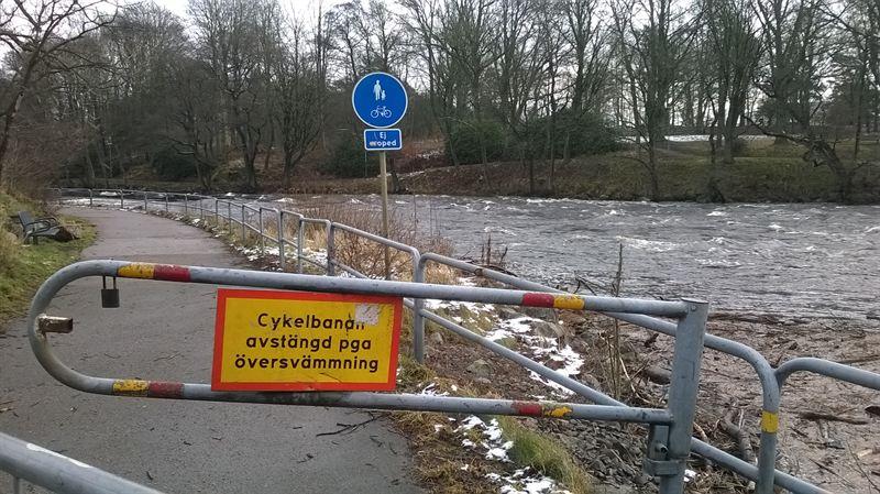 Ökad risk för översvämningar och skyfall i Sverige