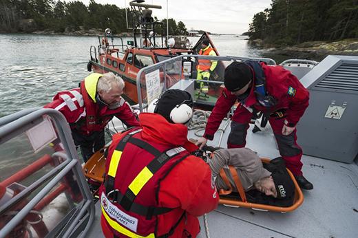 Fler sjöräddningsfall under 2015