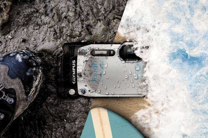 Tuff kamera för våta miljöer