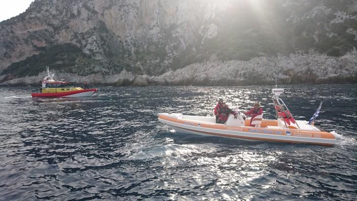 Fler sjöräddande frivilligorganisationer till Egeiska Havet