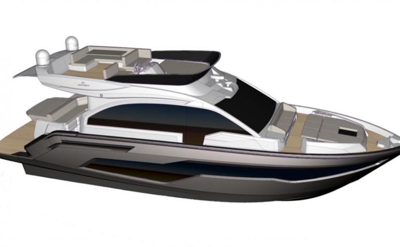 Cranchi satsar på 50 fots flybridgebåt