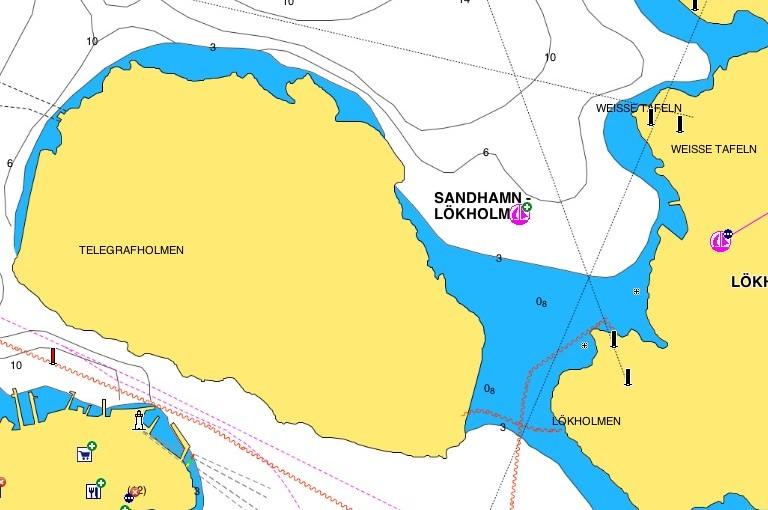 Viktigt att uppdatera dina elektroniska sjökort