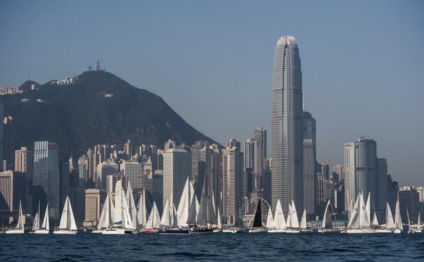 Volvo Ocean Race till Hongkong