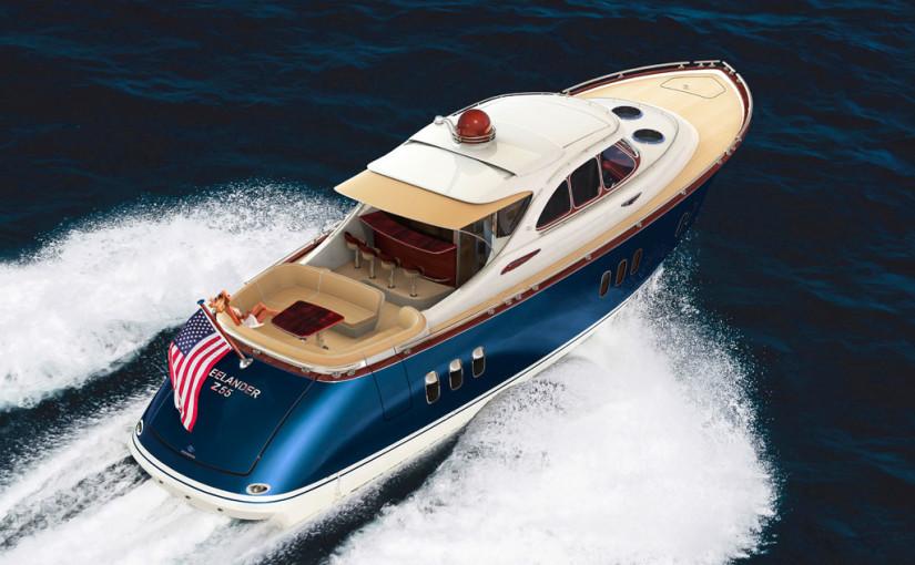 Retrobåt med superyachtskänsla