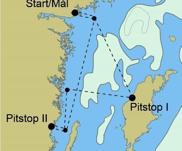 Start för Seapilot2star på måndag