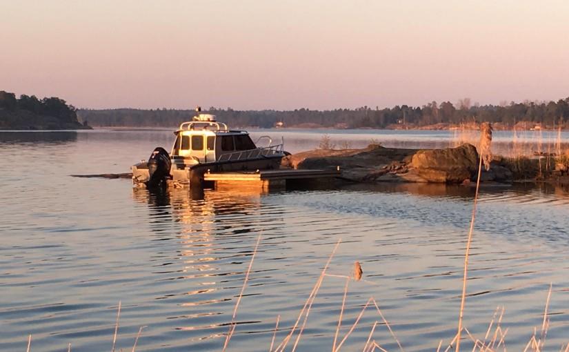 På jakt med Alukin – Åland tur och retur