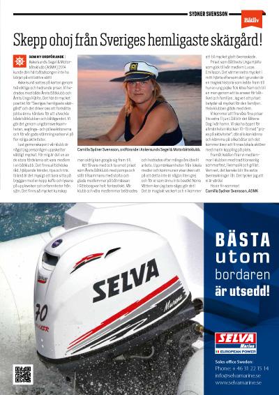 Camilla Sydner Svensson Båtliv 3-16
