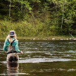 Flugfiske för kvinnor med Inlandsbanan