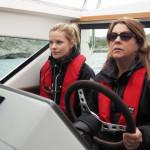 Svedea hjälper kvinnor ta plats på sjön