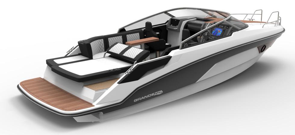 Premiumbåt i sportklassen från Grandezza