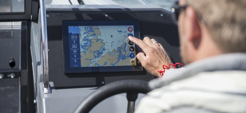 Buster Boats lanserar smartskärm som standardutrustning