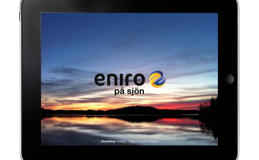 Årliga uppdateringen av Eniro på Sjön i hamn