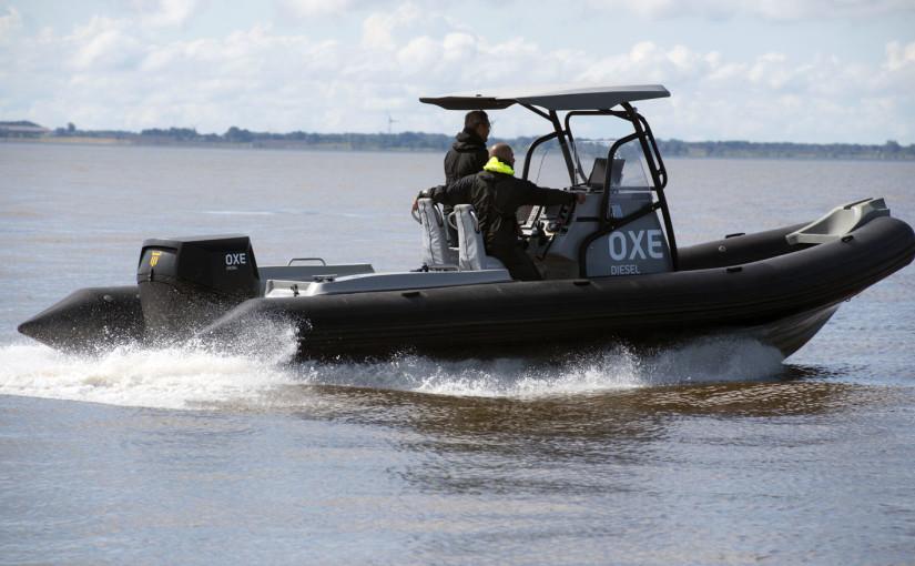 Dieselutombordare för högpresterande båtar