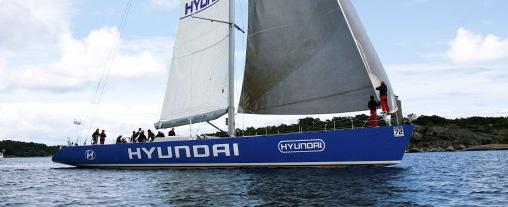 Hyundai nära slå rekordet i Gotland Runt