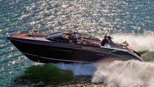"Sarnico, Lago di Iseo, Italy, 13 May 2016 The new Riva ""Rivamare"" 38 feet Ph: Guido Cantini / Sea&See.com"