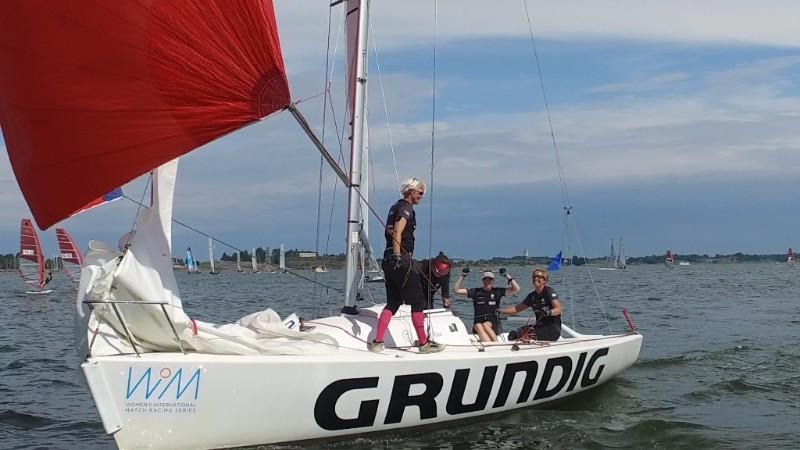 Team Anna Östling upp i topp i WIM Series