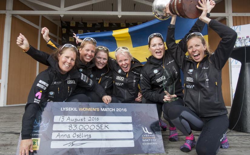 Anna Östling vann Lysekil Women's Match