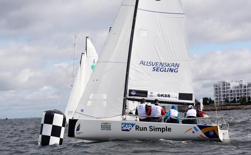Göteborg laddar för final i allsvenskan i segling