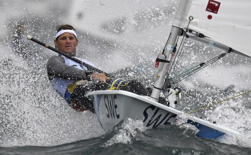 Dubbla pallplatser för Jesper på vindfattig OS-dag